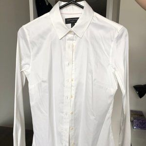Banana Republic Tailored Fit Button Blouse